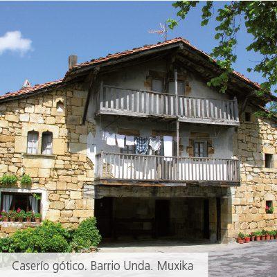 caserio gotico muxika