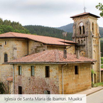 Iglesia Santa María de Ibarruri