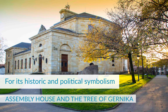 ASSEMBLY HOUSE AND THE TREE OF GERNIKA