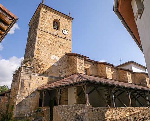 Iglesia de San Vicente de Muxika