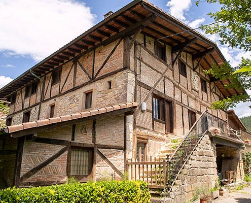 Palacio Aristieta en Ajangiz